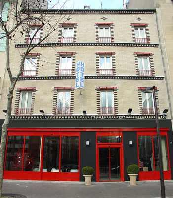 Hotel median paris porte de versailles a parigi for Paris porte de versailles