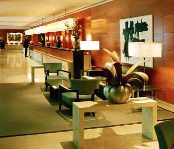 L'atrio dell'hotel