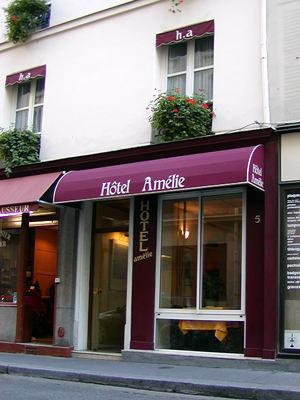 Hotel Amelie Parigi