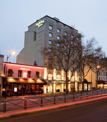 Hotel hotel holiday inn paris montparnasse av du maine for Hotel modigliani parigi