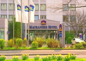 Hôtel: Best Western Macrander Hotel Frankfurt/Kaiserlei - FOTO 1
