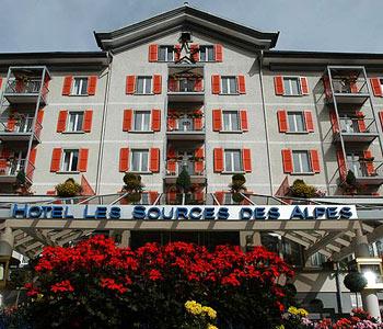 Hotel: Les Sources des Alpes - FOTO 2