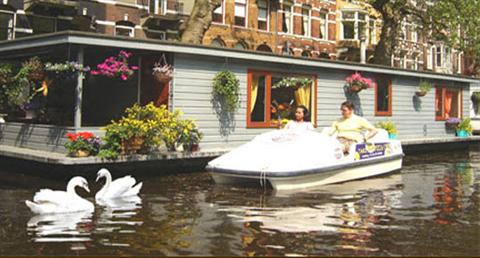Gästehaus: Phildutch Houseboat Amsterdam Bed and Breakfast - FOTO 1