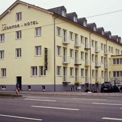 comfor blaubeurer strasse hotel ulm in ulm compare prices. Black Bedroom Furniture Sets. Home Design Ideas