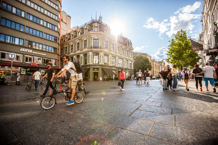 Oslo a luglio