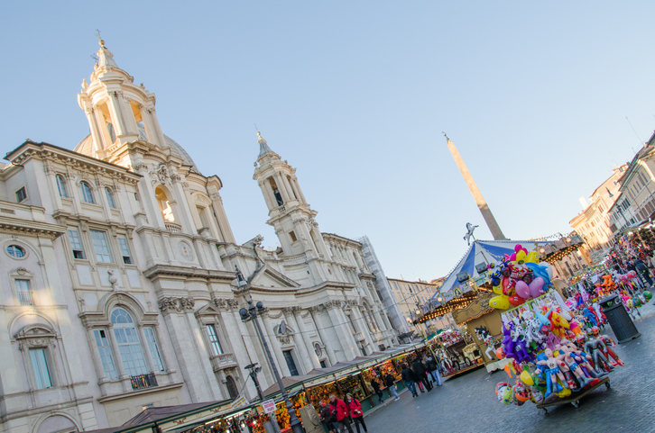 Mercatini di Natale Roma: Piazza Navona