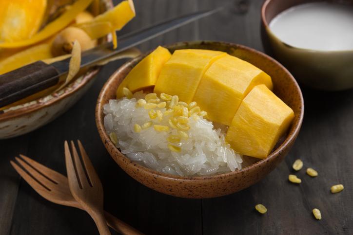 Riso al mango