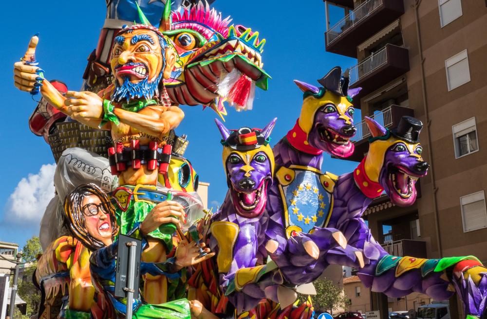 Carri del Carnevale di Sciacca