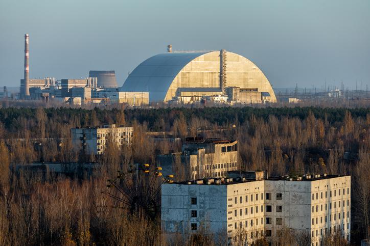 Centrale di Chernobyl oggi