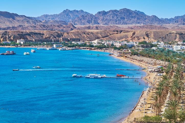 sharm el sheikh spiaggia