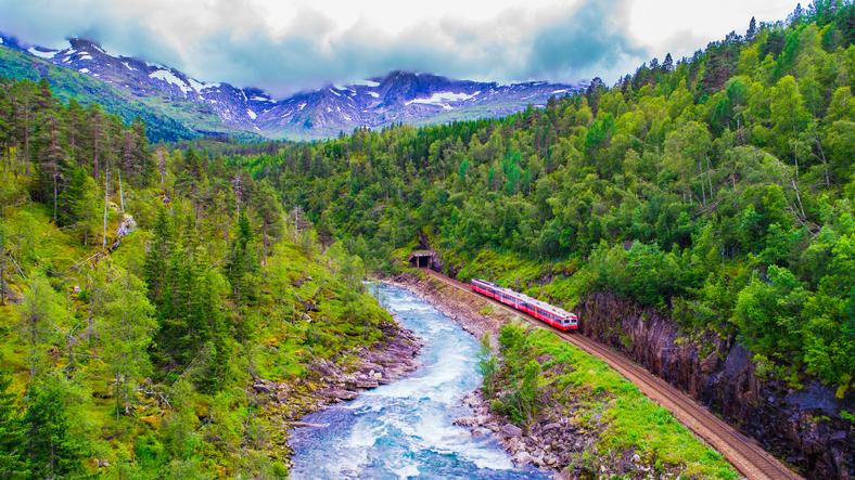 Treno Oslo-Bergen