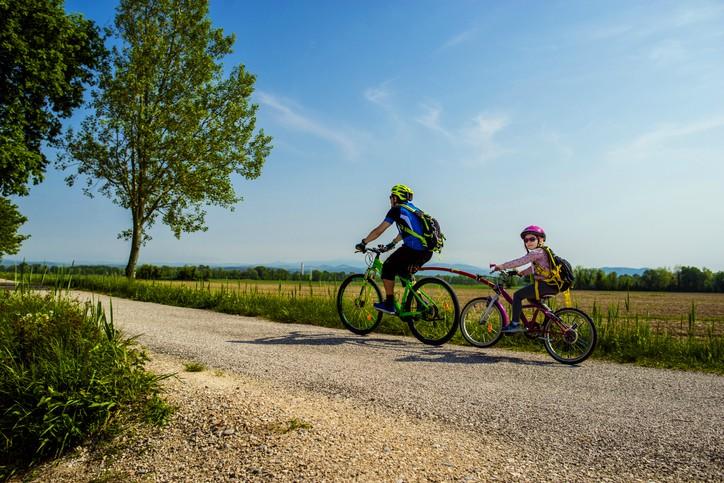 turismo lento in bicicletta