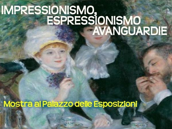 Impressionismo espressionismo avanguardie mostra al for Mostra palazzo delle esposizioni