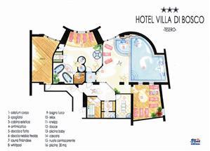 Hotel Villa Di Bosco A Tesero