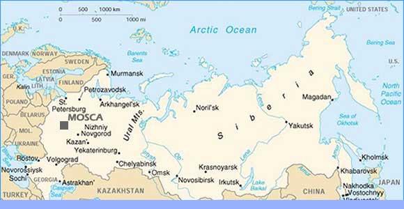 Mappa Mosca Cartine  Stradario E Itinerari