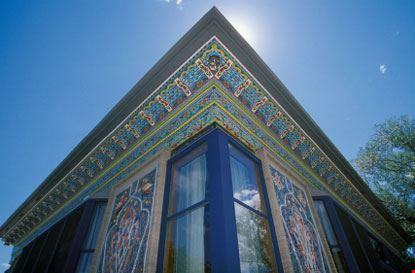 Casa del tè persiana