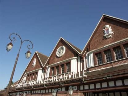 Photo deauville stazione di trouville deauville photos de - Office de tourisme deauville trouville ...