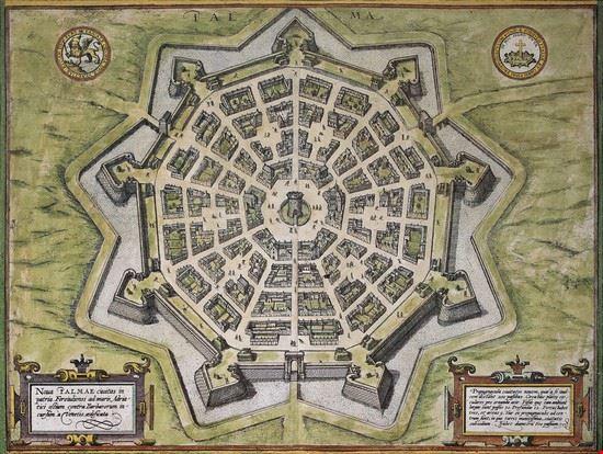 Mappa della Fortezza