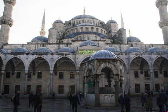 La Sultanahmet Moschea Blu