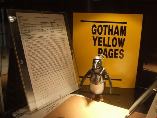 Gotham Yellow Pages al London Film Museum