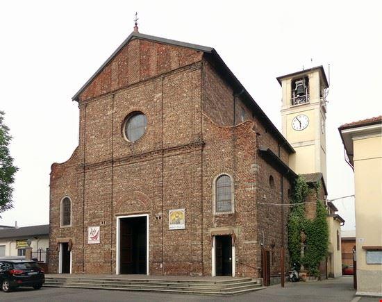 chiesa parrocchiale di linate - peschiera borromeo