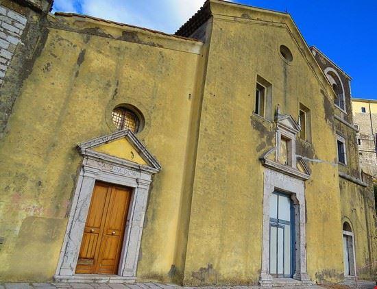 abbazia di san nicola a montesarchio