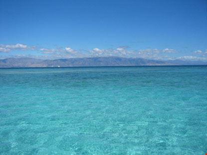 Isola, spiaggia e mare