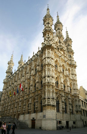 Photo Municipio di Leuven in Leuven - Pictures and Images of Leuven