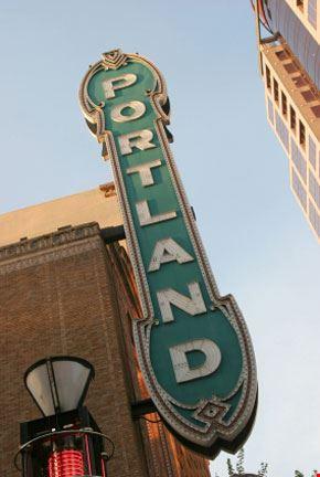 Segno del teatro di Portland