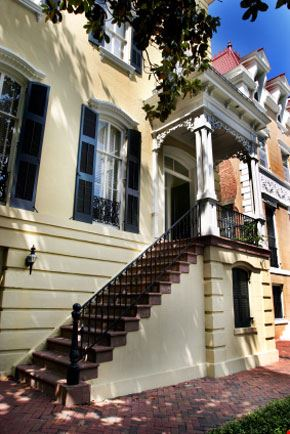 Case urbane di Savannah