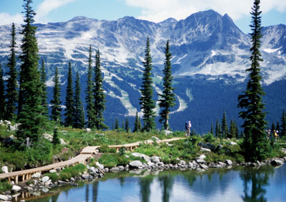 Photo whistler monte whistler in Whistler - Pictures and Images of Whistler - 415x293  - Author: Editorial Staff, photo 2 of 6