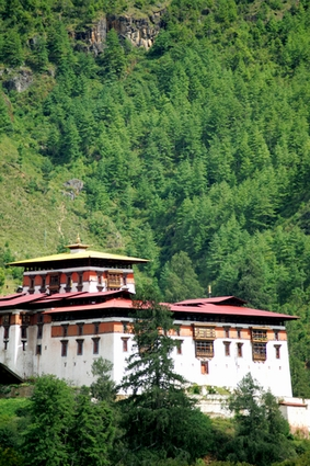 Photo paro paro dzong in Paro - Pictures and Images of Paro