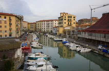 Photo Canal in Livorno - Pictures and Images of Livorno