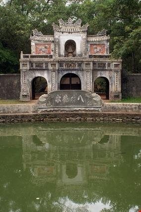 Gate to Tomb Complex Tu Duc