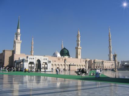 Photo medina mosque in Medina - Pictures and Images of Medina