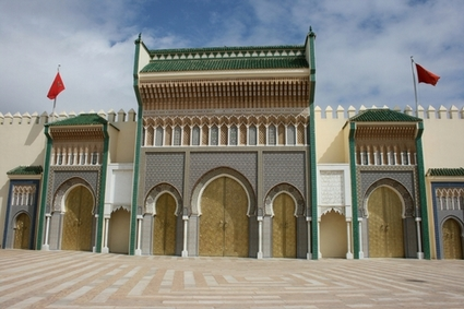 Photo meknes the royal palace in Meknes - Pictures and Images of Meknes