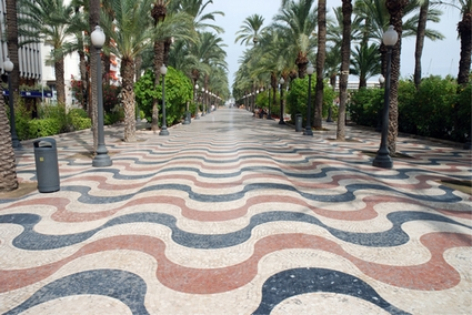 Photo alicante promenade in Alicante - Pictures and Images of Alicante