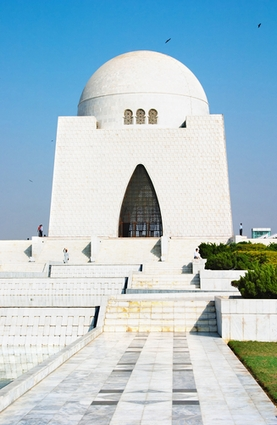 Photo Mausoleum Mazar-e-Quaid in Karachi - Pictures and Images of Karachi - 277x425  - Author: Editorial Staff, photo 2 of 2