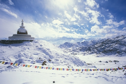 Photo leh stupa ladakh in Leh - Pictures and Images of Leh