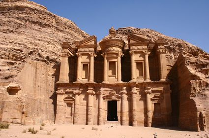 Photo Eneter the Rocky City in Petra - Pictures and Images of Petra - 425x280  - Author: Editorial Staff, photo 1 of 81