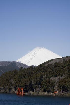 Lake Ashi and Mt.Fuji