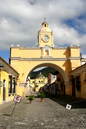 Photo Arch of Santa Catalina in Antigua guatemala - Pictures and Images of Antigua guatemala - 283x425  - Author: Editorial Staff, photo 2 of 2