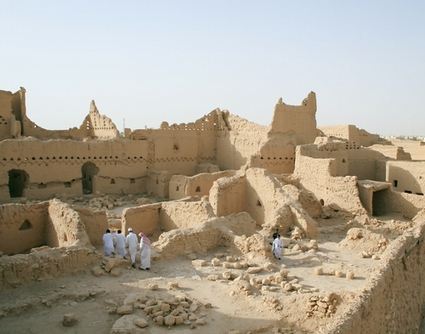 Photo Diriyah Ruins in Riyadh - Pictures and Images of Riyadh 