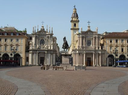 Carlo royal square in Turin in Turin - Pictures and Images of Turin