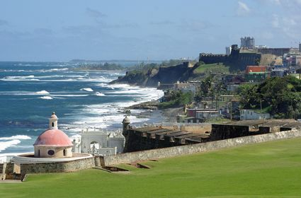 Photo View from El Morro in San juan - Pictures and Images of San juan 