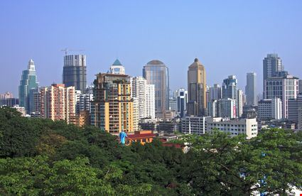 Cityscape view of Nanjing