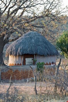 Traditional Rondavele House