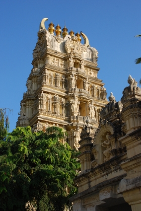 Photo Hindu Temple  in Mysore - Pictures and Images of Mysore - 284x425  - Author: Editorial Staff, photo 2 of 6