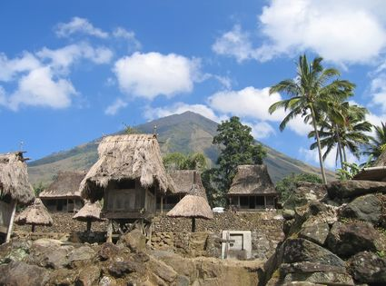 Photo Ngada village in Flores - Pictures and Images of Flores - 425x315  - Author: Editorial Staff, photo 1 of 2