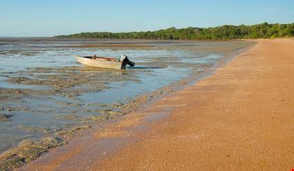 Mudflats at West Alligator Head